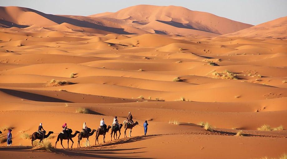 Merzouga sahara
