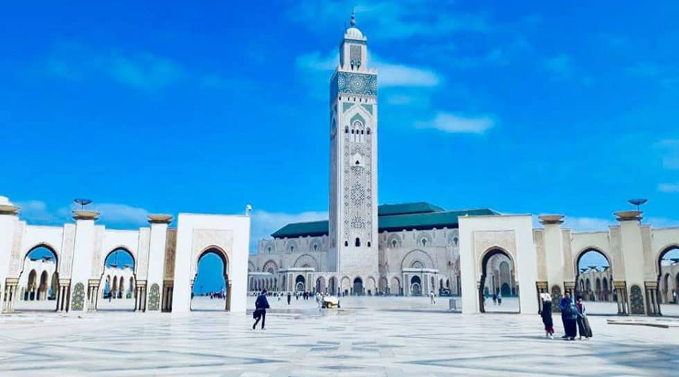 Hassan 2 mousqe in Casablanca