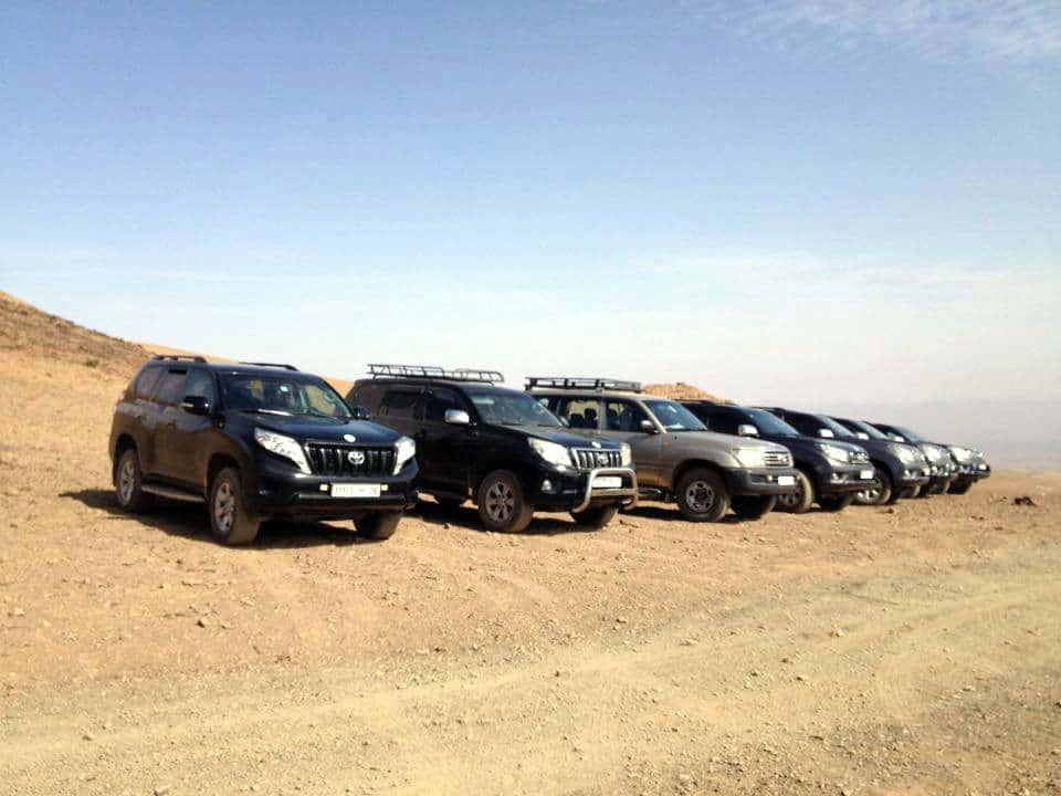 10 Sahara desert 4x4s group tour
