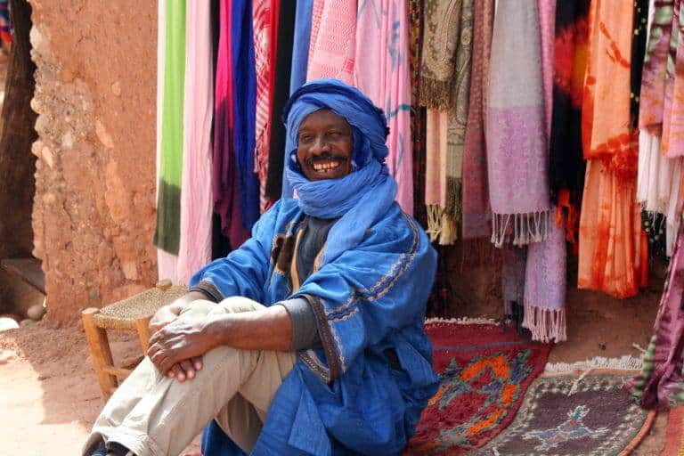 7 Berber man Ouarzazate by Gail Coker Jones